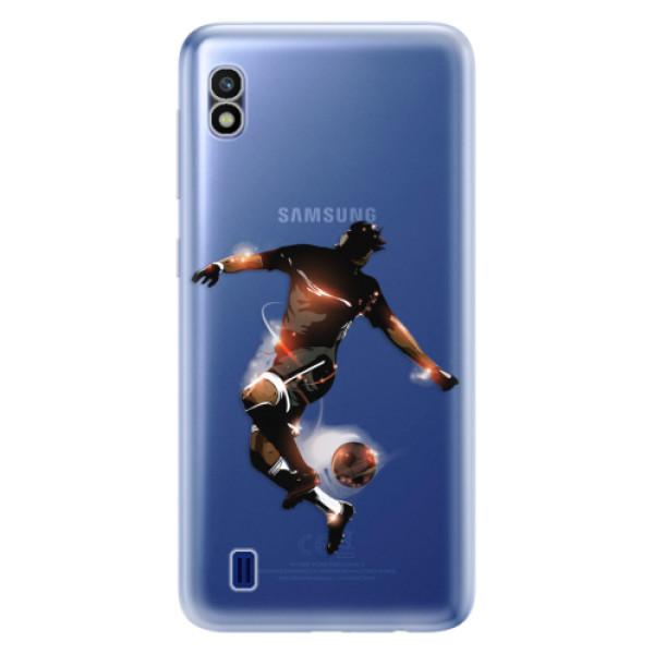 Odolné silikonové pouzdro iSaprio - Fotball 01 - Samsung Galaxy A10