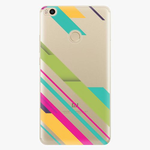 Plastový kryt iSaprio - Color Stripes 03 - Xiaomi Mi Max 2