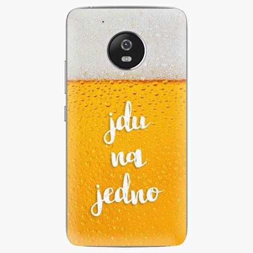 Plastový kryt iSaprio - Jdu na jedno - Lenovo Moto G5