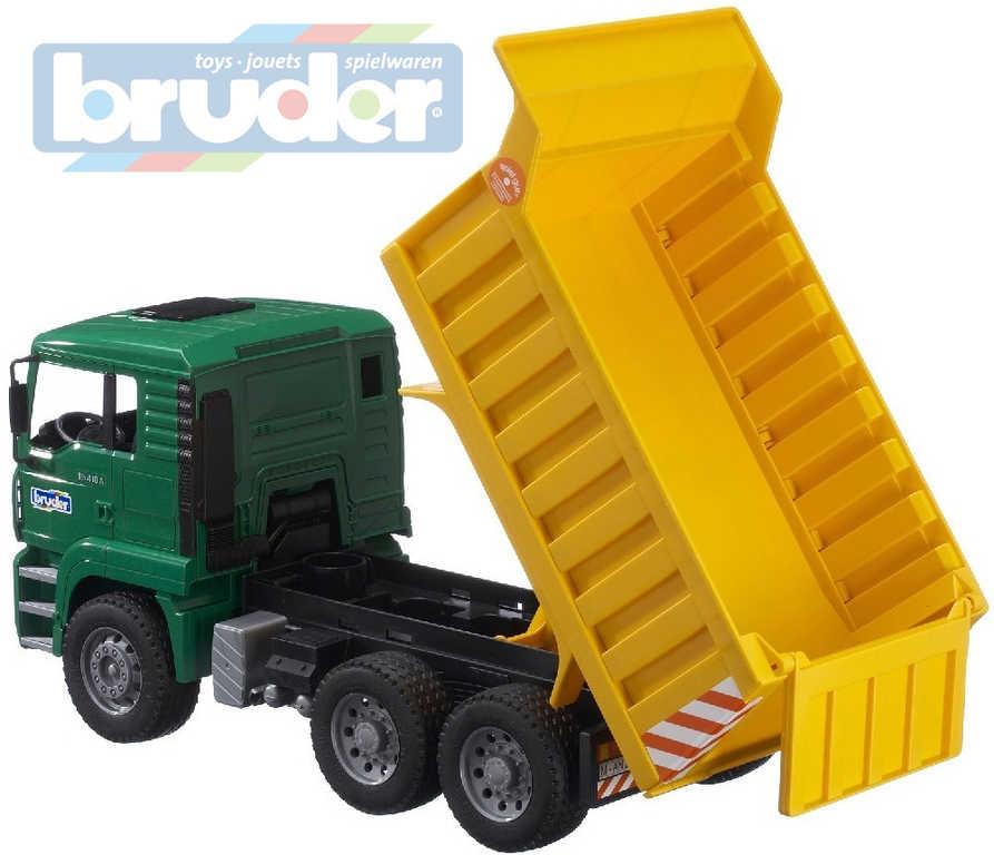 BRUDER 02765 (2765) Nákladní auto MAN - sklápeč