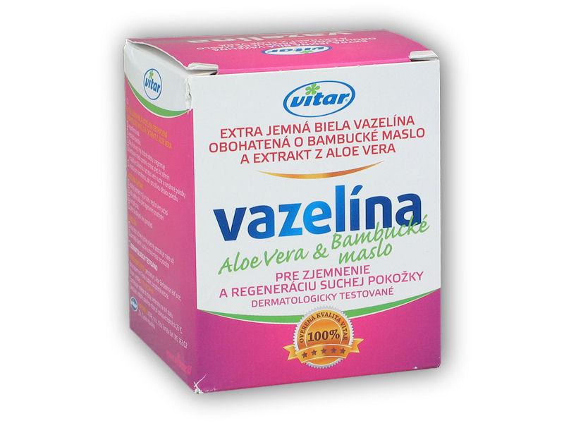 Vitar Vazelína Aloevera+ Bambucké m.110g