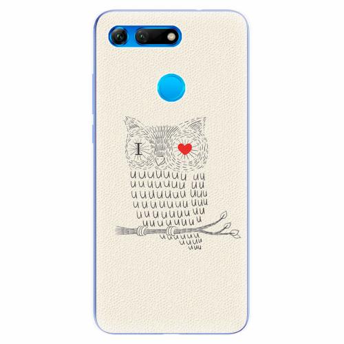 Silikonové pouzdro iSaprio - I Love You 01 - Huawei Honor View 20