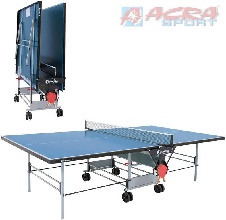 ACRA Stůl Sponeta S3 47e venkovní na stolní tenis 274x153cm 2 barvy