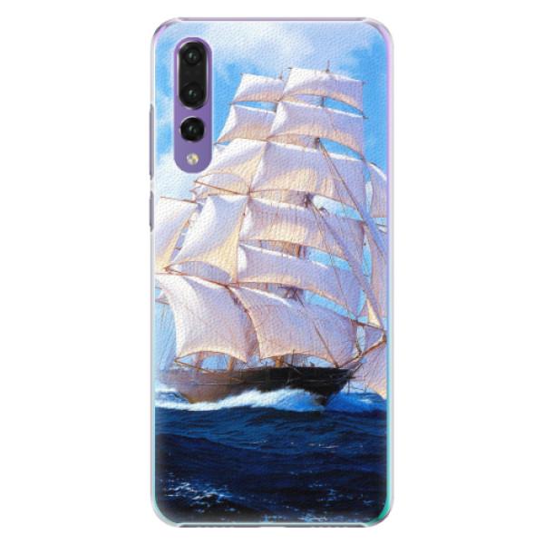 Plastové pouzdro iSaprio - Sailing Boat - Huawei P20 Pro