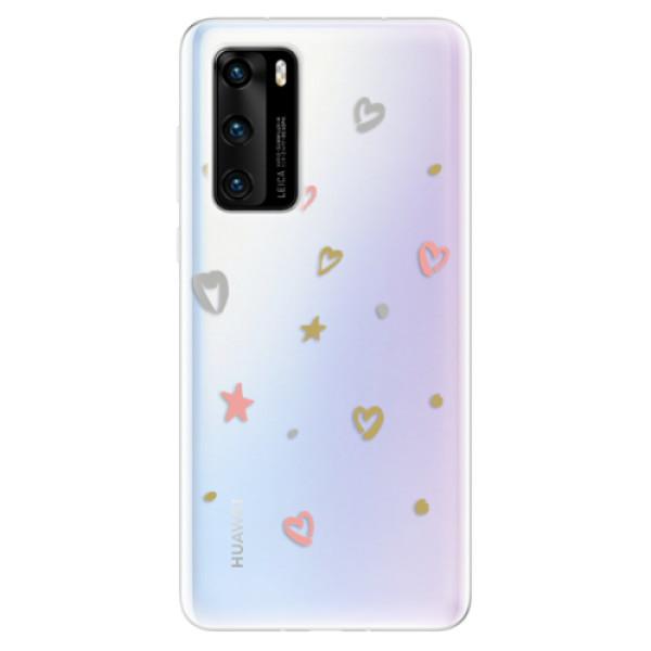 Odolné silikonové pouzdro iSaprio - Lovely Pattern - Huawei P40