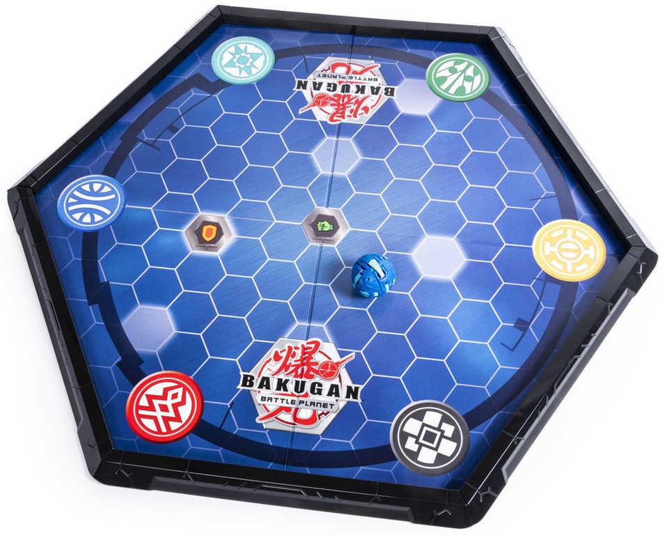 SPIN MASTER Bakugan hrací aréna set s hracími kartami a destičkami
