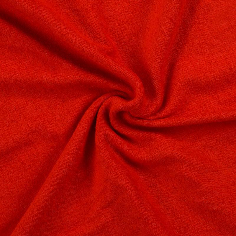 Froté prostěradlo 90x200cm II.jakost, Barva 014 červená