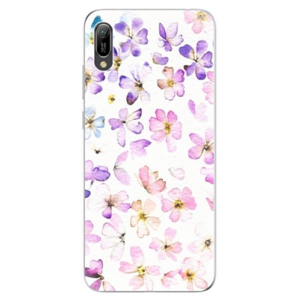 Odolné silikonové pouzdro iSaprio - Wildflowers - Huawei Y6 2019