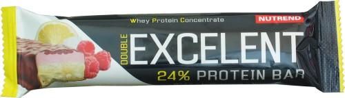 Excelent 24% Protein Bar Double - 85g-citron-tvaroh-malina-s-brusinkami
