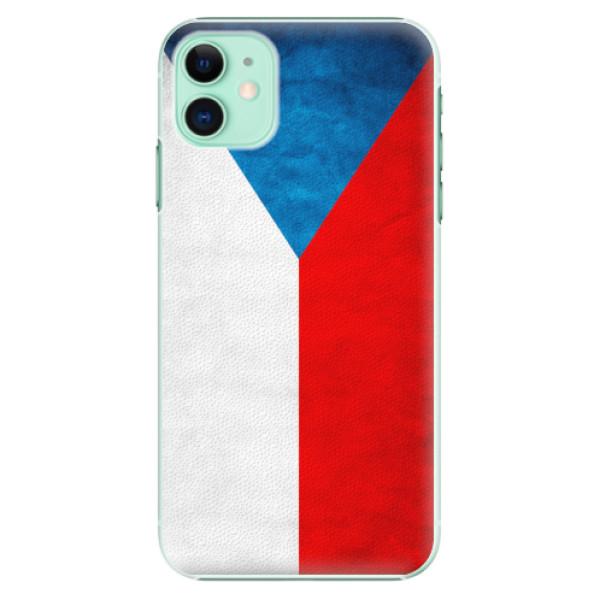 Plastové pouzdro iSaprio - Czech Flag - iPhone 11