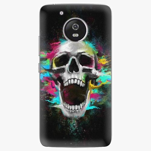 Plastový kryt iSaprio - Skull in Colors - Lenovo Moto G5