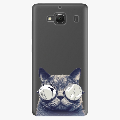 Plastový kryt iSaprio - Crazy Cat 01 - Xiaomi Redmi 2