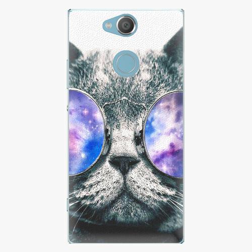 Plastový kryt iSaprio - Galaxy Cat - Sony Xperia XA2