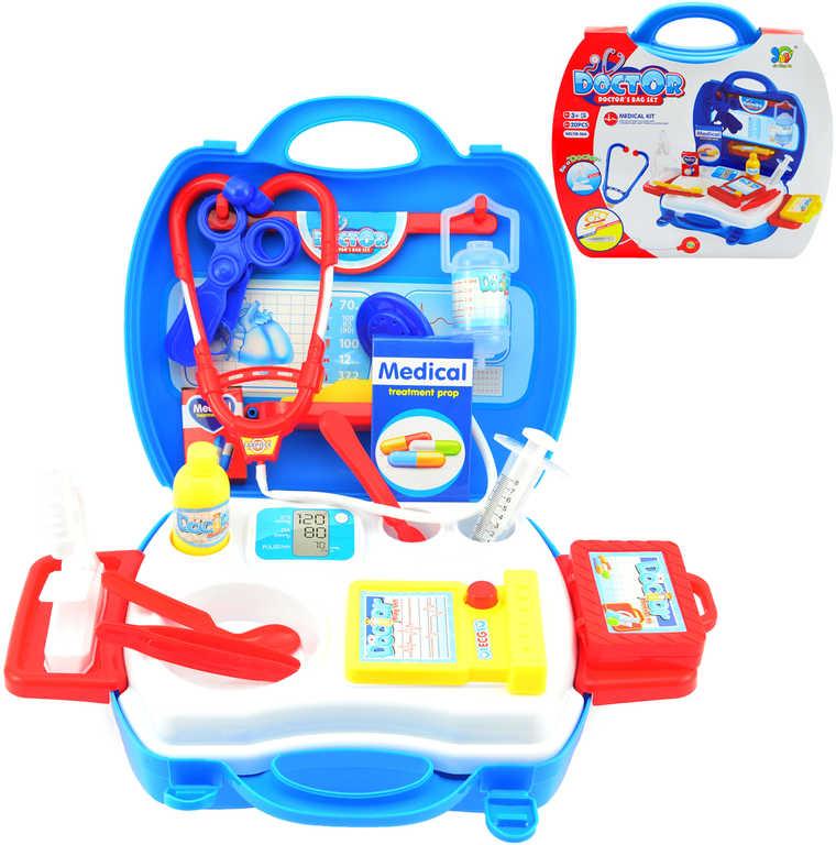 Sada doktorská set 20ks v plastovém kufříku dětské lékařské potřeby