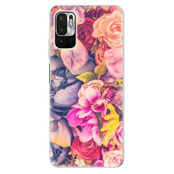 Odolné silikonové pouzdro iSaprio - Beauty Flowers - Xiaomi Redmi Note 10 5G
