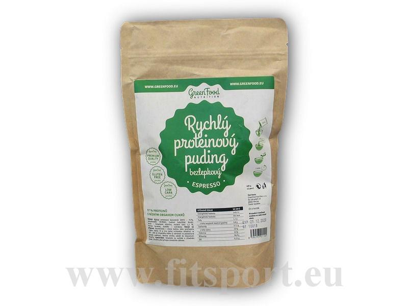 Rychlý Proteinový Puding bezlepkový