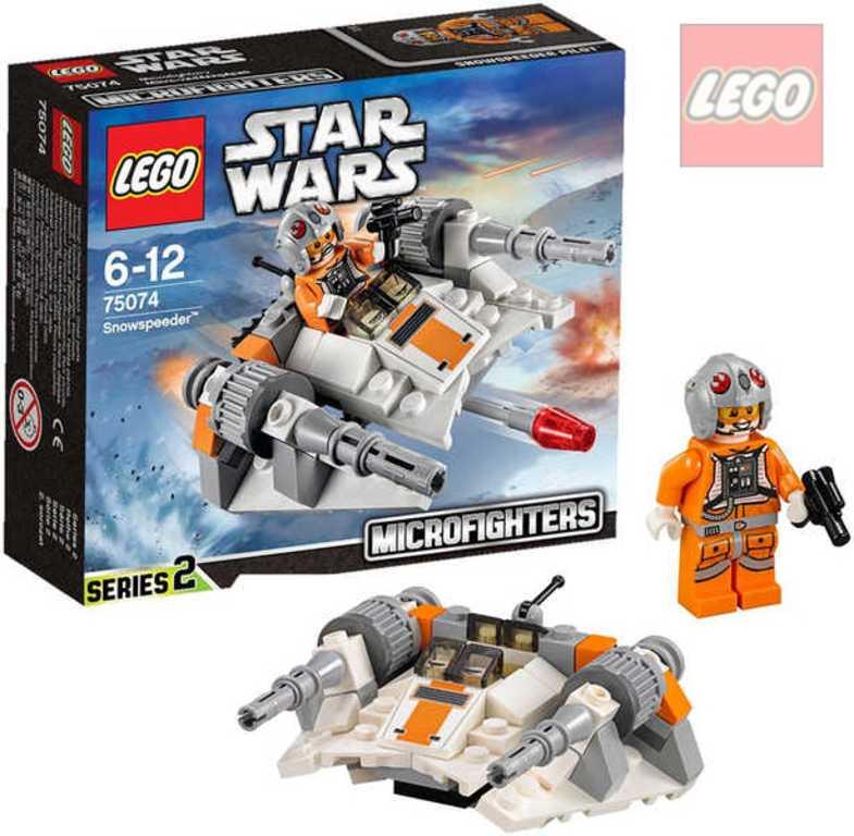LEGO STAR WARS Snowspeeder 75074 STAVEBNICE