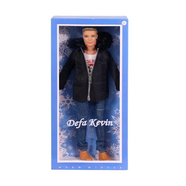 Defa panák Kevin 30cm různé druhy trendy zimní obleček panenka v krabičce