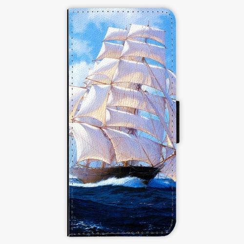 Flipové pouzdro iSaprio - Sailing Boat - Samsung Galaxy J3