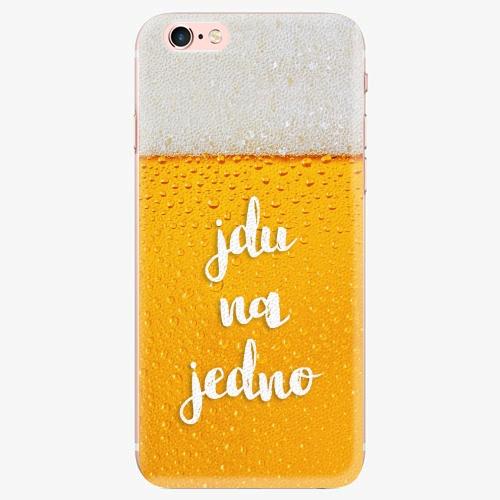 Silikonové pouzdro iSaprio - Jdu na jedno - iPhone 7