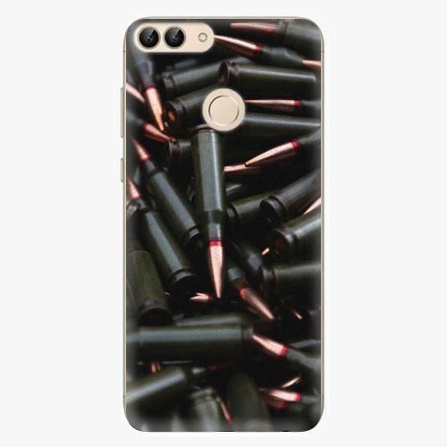 Silikonové pouzdro iSaprio - Black Bullet - Huawei P Smart