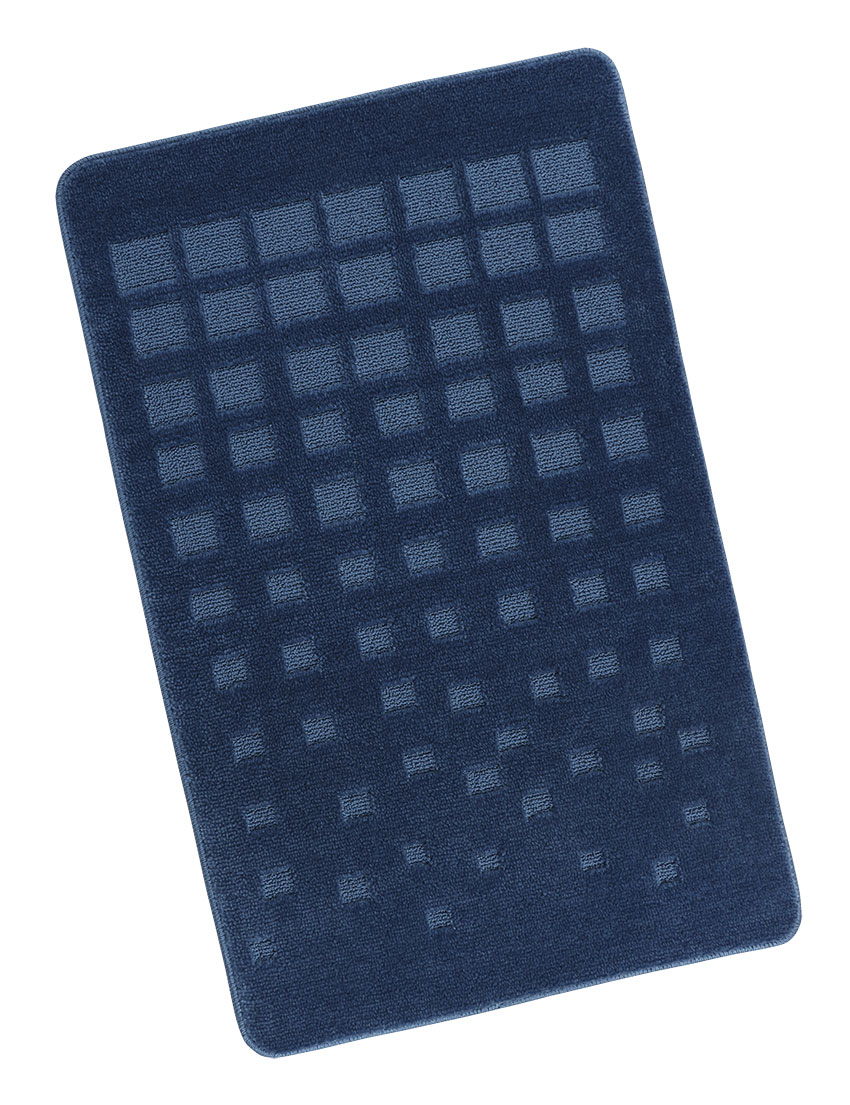 Koupelnová předložka 60x100cm Dlaždice modrá