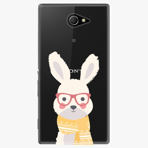 Plastový kryt iSaprio - Smart Rabbit - Sony Xperia M2