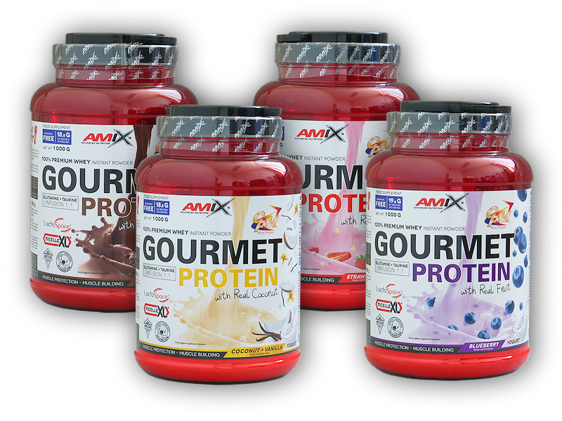 Gourmet Protein - 1000g-chocolate-coconut