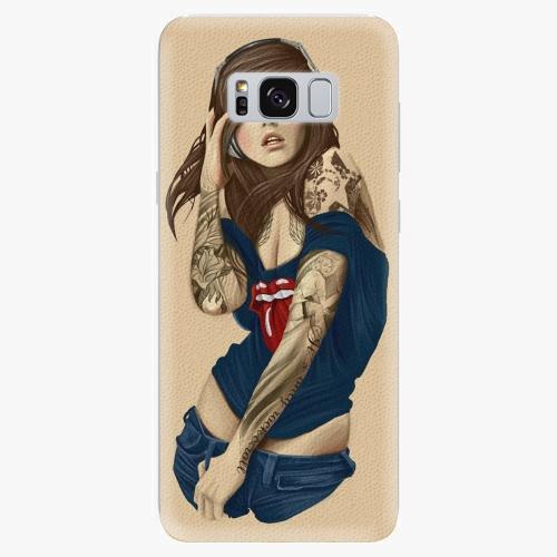 Plastový kryt iSaprio - Girl 03 - Samsung Galaxy S8 Plus