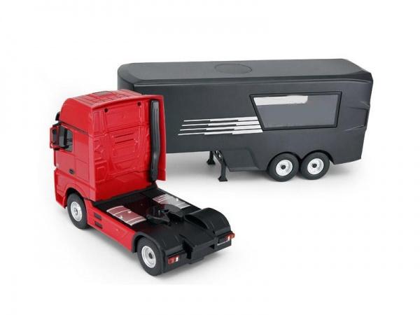 Kamion Mercedes-Benz Actros s návěsem 1:26 2.4GHz RTR - červený