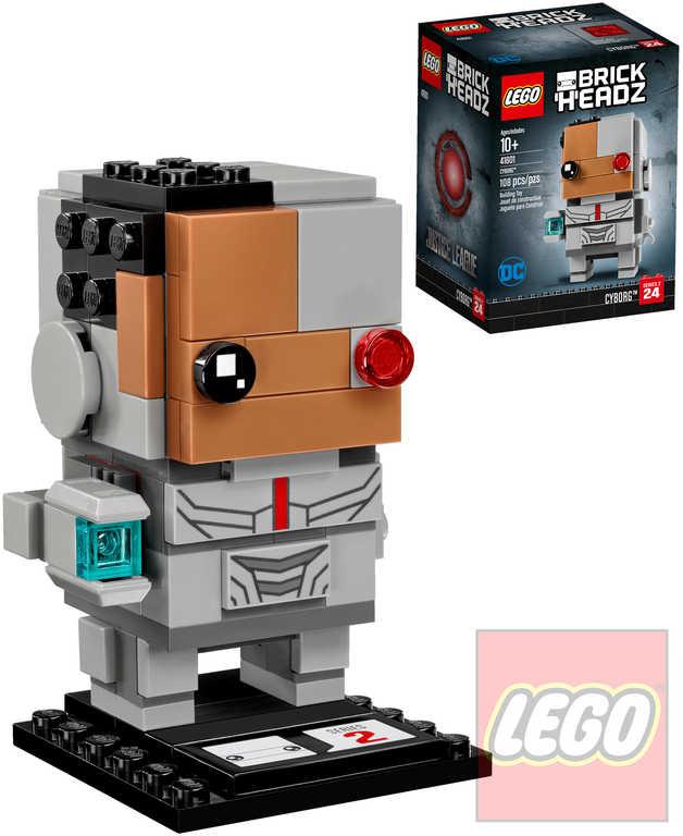 LEGO BRICKHEADZ Liga spravedlnosti Cyborg STAVEBNICE 41601