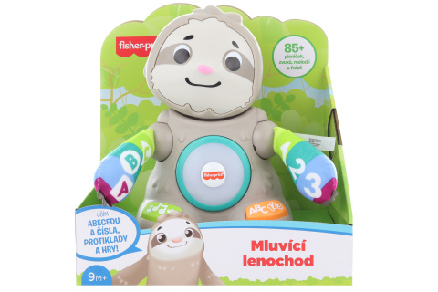 Fisher Price Linkimals mluvící lenochod CZ GRB11 TV 1.2.- 30.4.