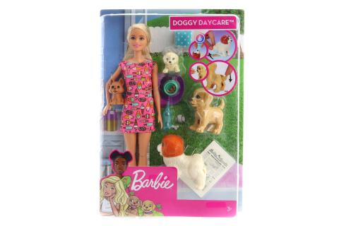 Barbie Péče o štěňátka FXH08