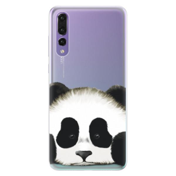 Silikonové pouzdro iSaprio - Sad Panda - Huawei P20 Pro