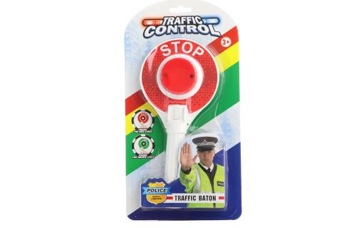 Policejní plácačka se světlem