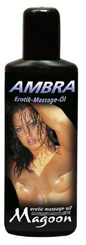 Masážní olej Ambra