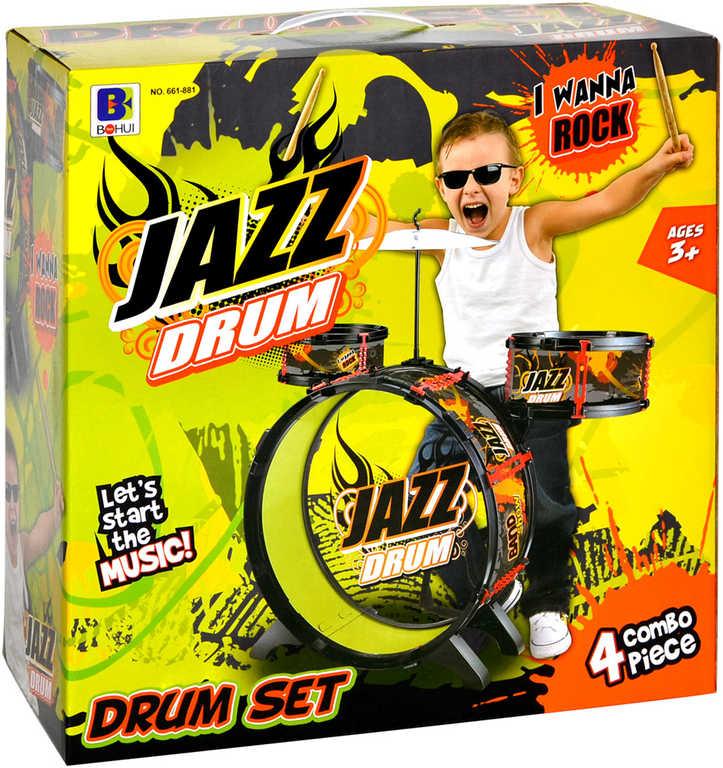 Jazz Drum sada malý bubeník bubny dětské v krabici *HUDEBNÍ NÁSTROJE*