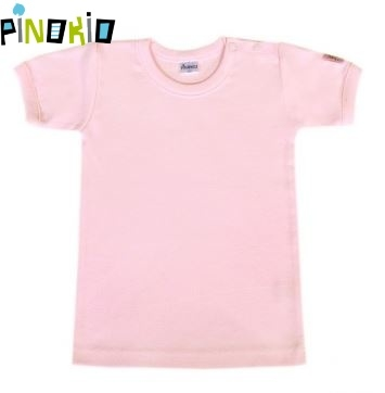Tričko kr.rukáv PINOKIO - růžová - 122