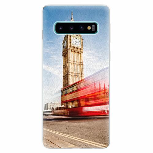 Silikonové pouzdro iSaprio - London 01 - Samsung Galaxy S10