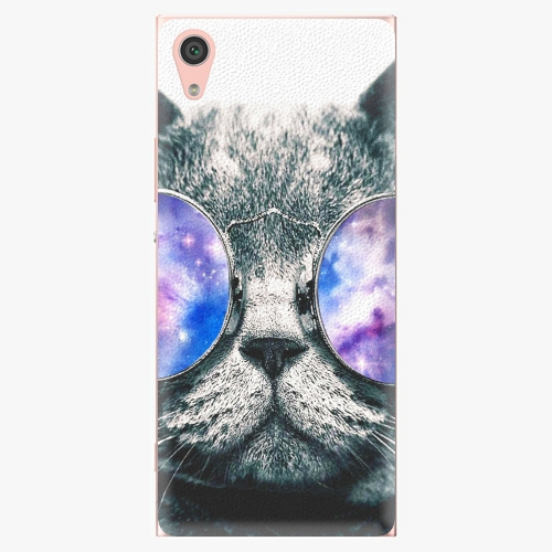 Plastový kryt iSaprio - Galaxy Cat - Sony Xperia XA1