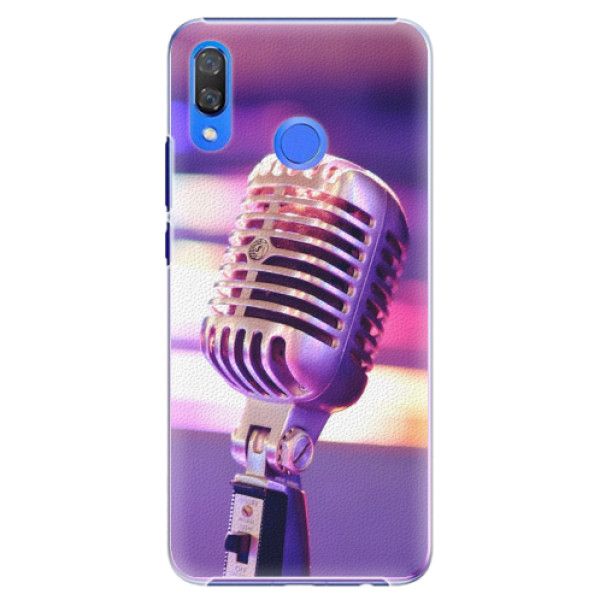 Plastové pouzdro iSaprio - Vintage Microphone - Huawei Y9 2019