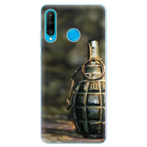 Odolné silikonové pouzdro iSaprio - Grenade - Huawei P30 Lite