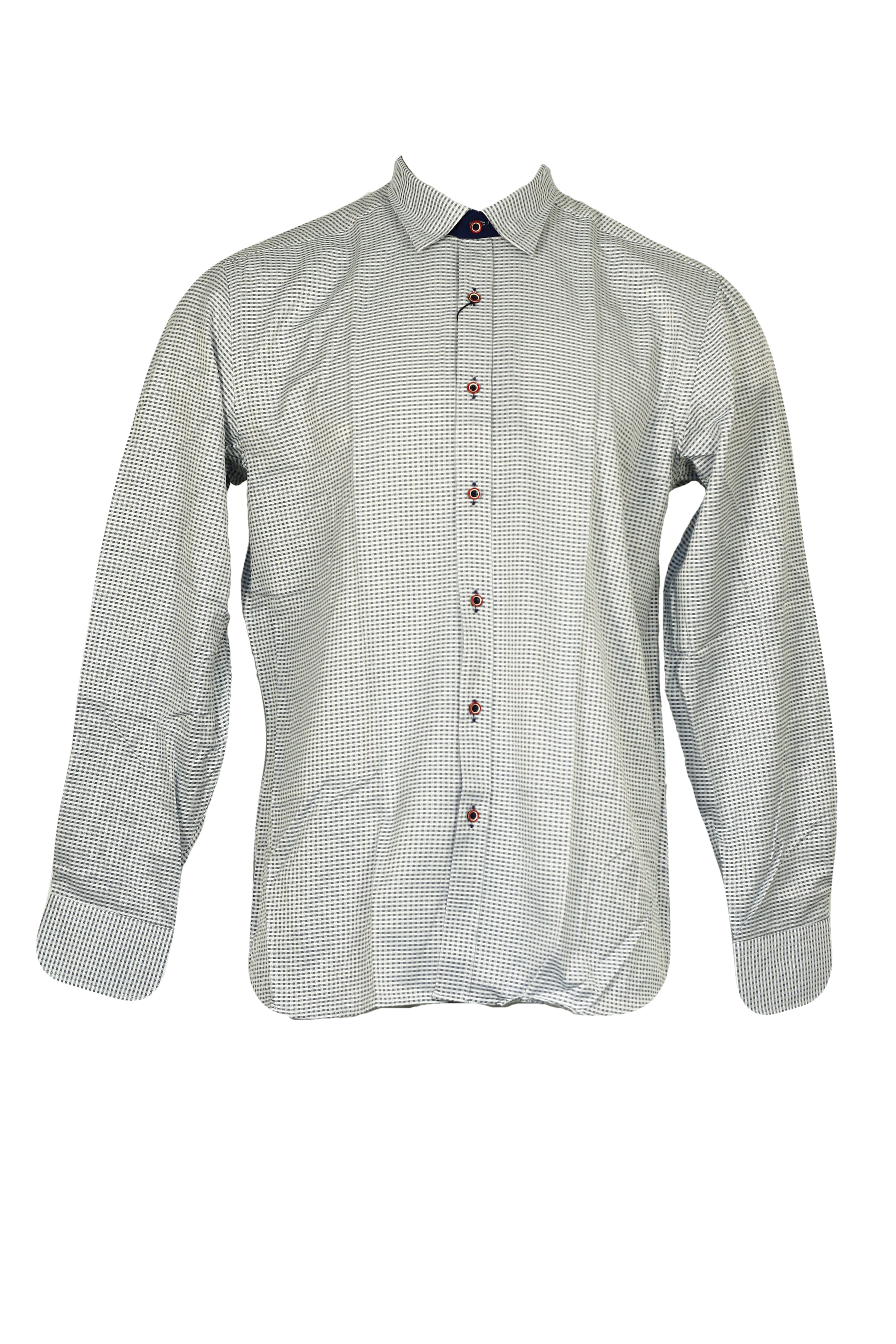 Pánská košile - Viadi Polo - Modro-bílá/XXL