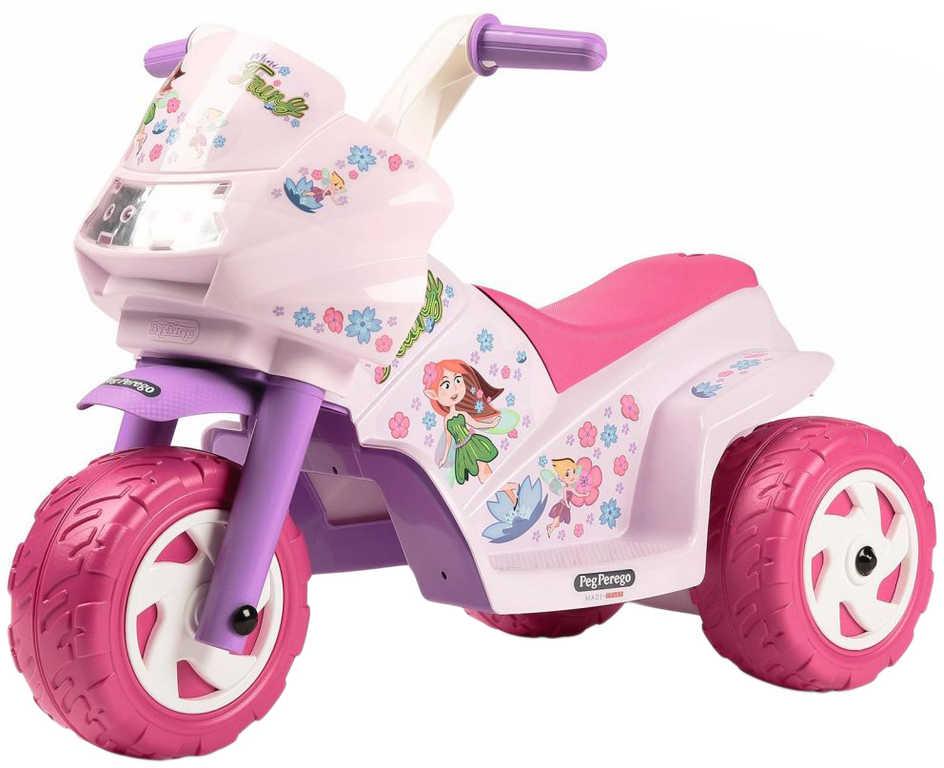 PEG PÉREGO Motorka MINI FAIRY 6V Elektrické vozítko pro děti