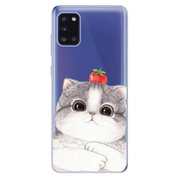Odolné silikonové pouzdro iSaprio - Cat 03 - Samsung Galaxy A31