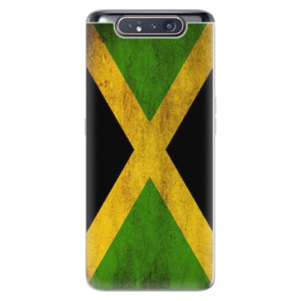 Odolné silikonové pouzdro iSaprio - Flag of Jamaica - Samsung Galaxy A80