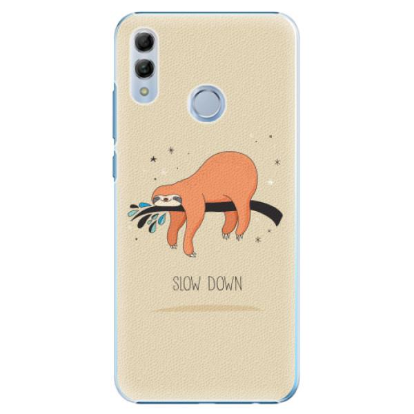 Plastové pouzdro iSaprio - Slow Down - Huawei Honor 10 Lite