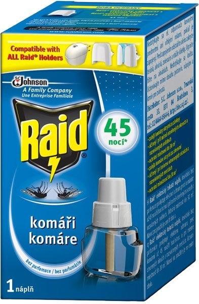 Tekutá náplň do elektrického odpařovače proti komárům 27 ml, 45 nocí