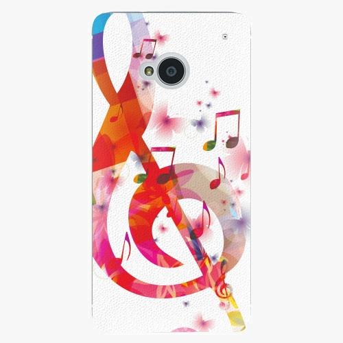 Plastový kryt iSaprio - Love Music - HTC One M7
