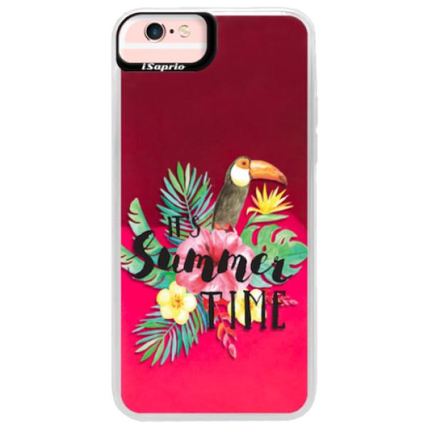 Neonové pouzdro Pink iSaprio - Summer Time - iPhone 6 Plus/6S Plus